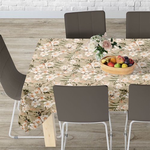 LINO ΤΡΑΠΕΖΟΜΑΝΤΗΛΟ LEIRE 101 BEIGE 140X140