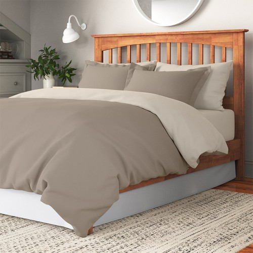 LINO ΠΑΠΛΩΜΑΤΟΘΗΚΗ CLASSICAL NEW BEIGE-TAUPE 220X240